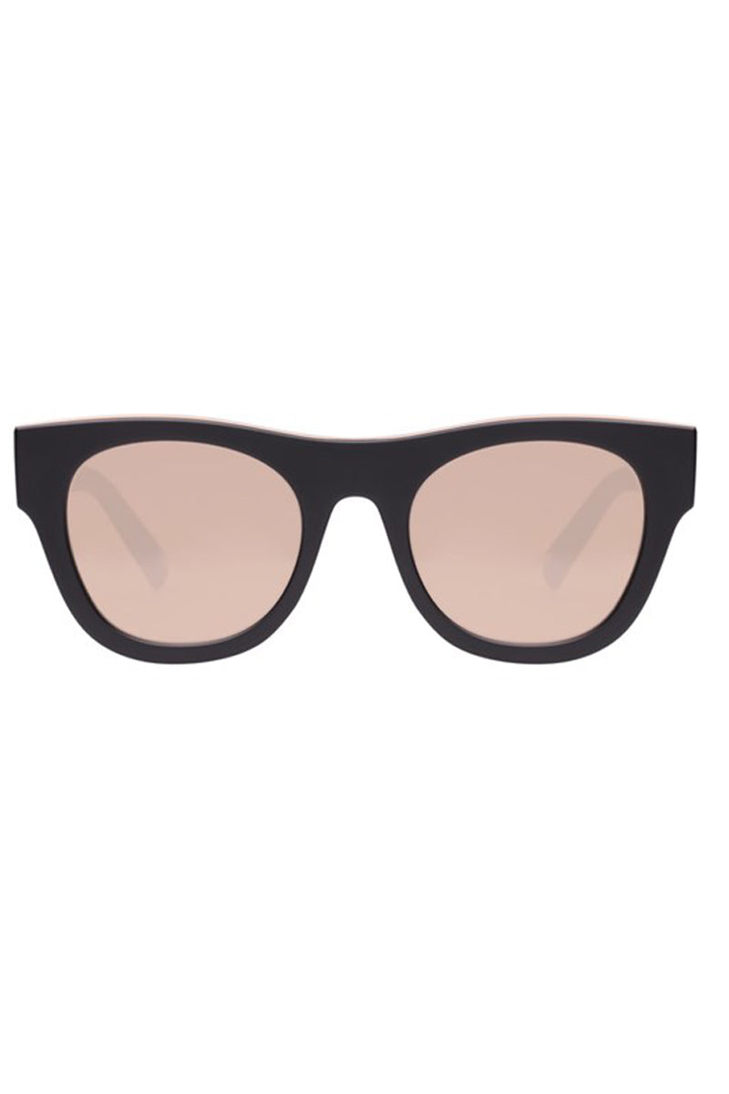 LE SPECS Arcadia Sunglasses - Matte Black Sunglasses | Matte Black| Le Specs Arcadia Sunglasses