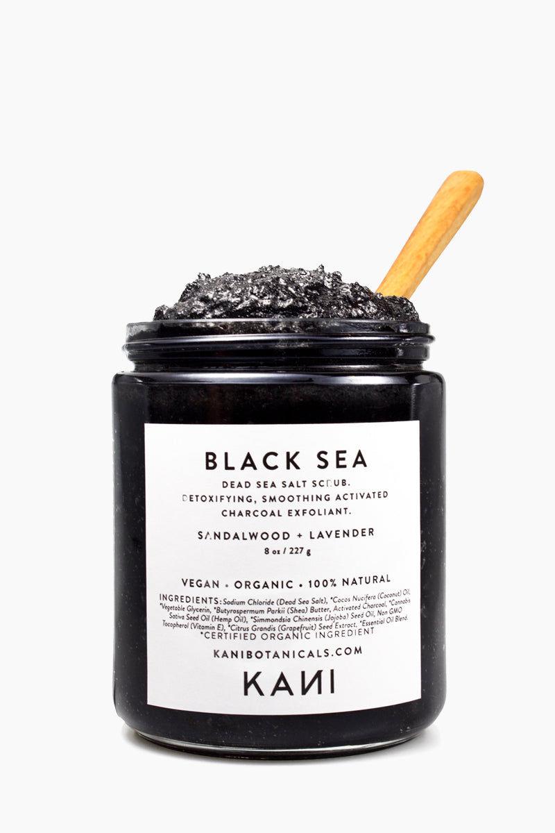 KANI BOTANICAL BEAUTY Black Sea Charcoal Body Polish Beauty |  Kani Botanical Beauty Black Sea Charcoal Body Polish