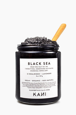 KANI BOTANICAL BEAUTY Black Sea Charcoal Body Polish Beauty | | Kani Botanical Beauty Black Sea Charcoal Body Polish