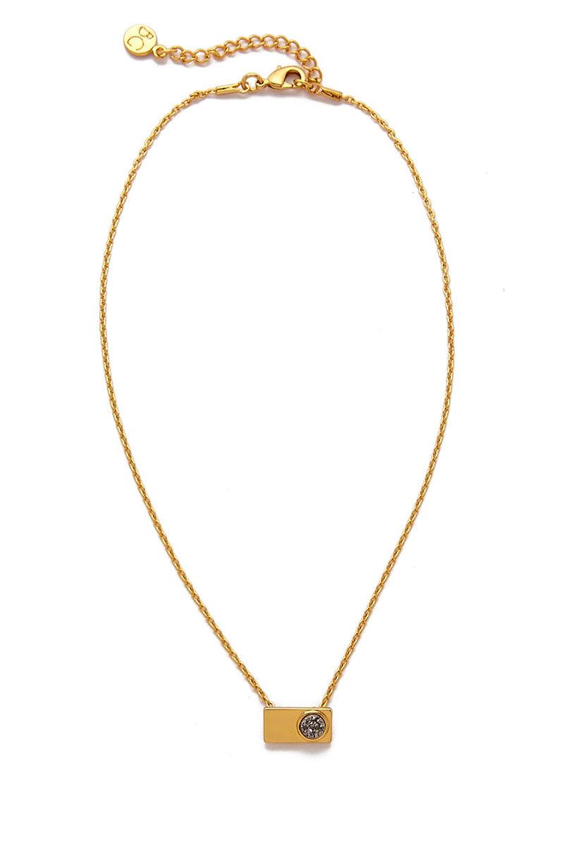 BRENDA GRANDS JEWELRY Vinca Necklace Jewelry | Gold|