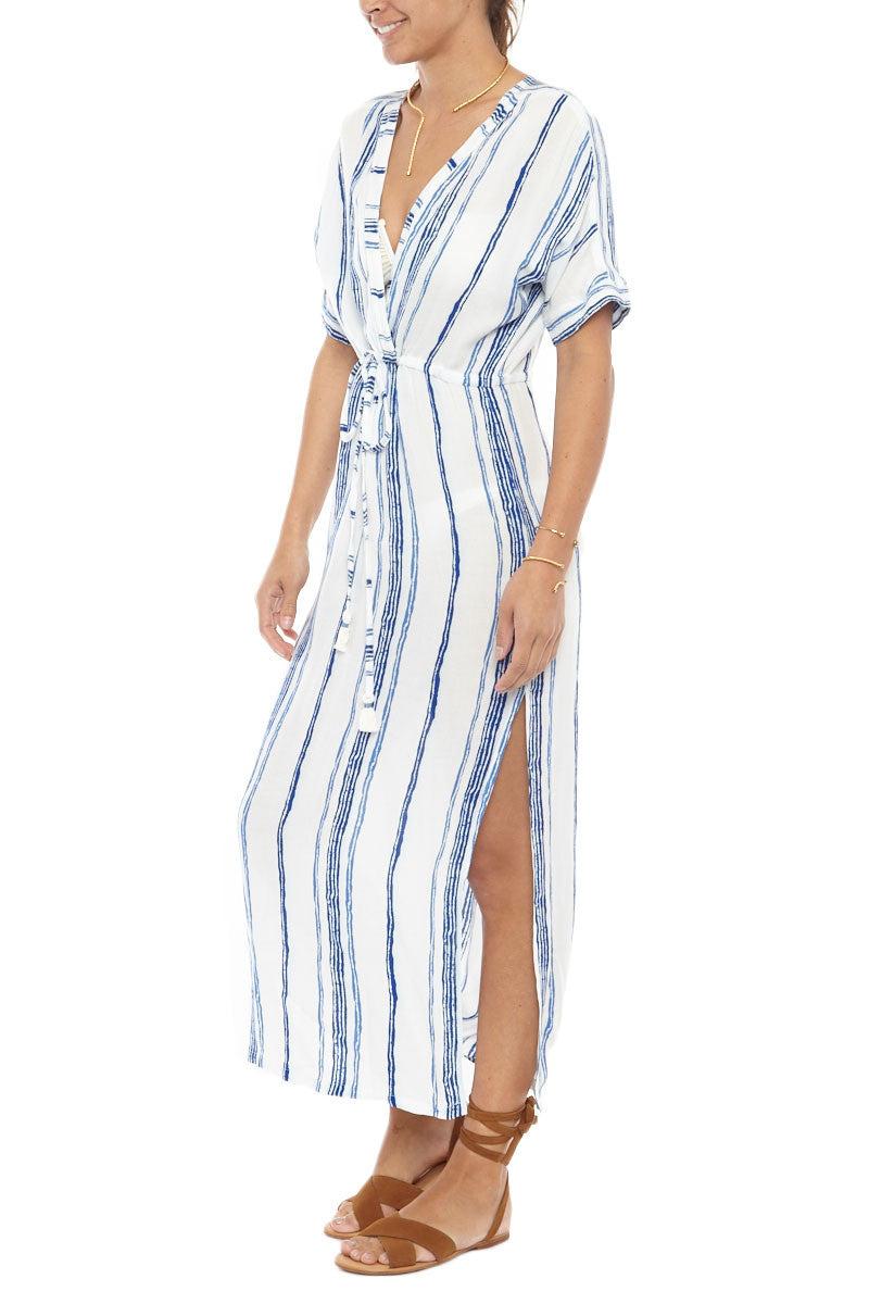 BEACHGOLD Drift Riviera Midi Cover Up Dress Dress   Capri  Beachgold Drift Riviera Midi Cover Up Dress
