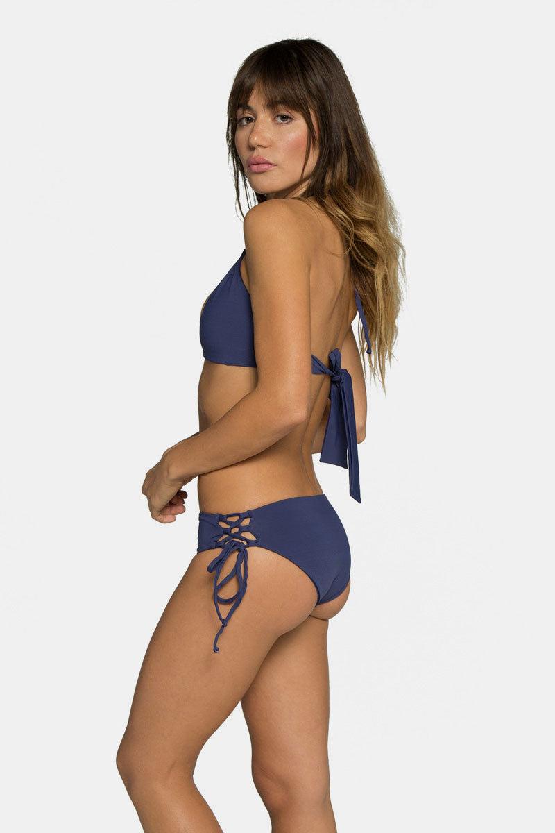 TAVIK Bebe Bikini Bottom - Deep Cobalt Blue Bikini Bottom | Deep Cobalt Blue| TAVIK Bebe Bikini Bottom