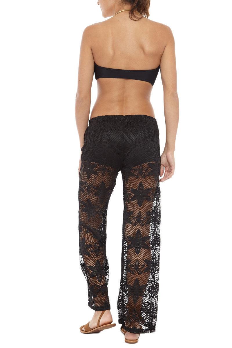 BIKINI.COM Knit Pants - Black Pants   Black Bikini.com Knit Pant
