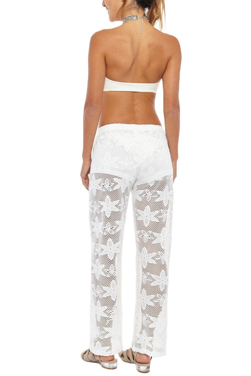 BIKINI.COM Knit Pants - White Pants | White|Bikini.com Knit Pant