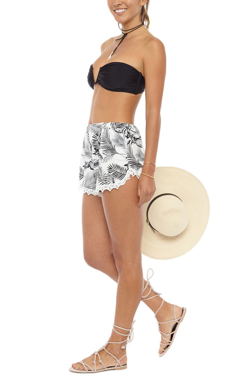 ANANAS Pineapple Shorts Shorts | Pineapple Print|Bikini.com Pineapple Shorts