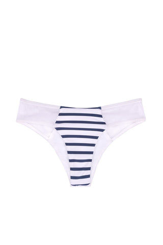 BLUE LIFE Portofino Cheeky Bikini Bottom - Stripes Bikini Bottom | Stripes| Blue Life Portofino Cheeky Bikini Bottom