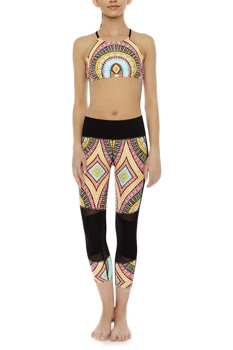 BODY GLOVE Cobra Pant Leggings   Culture Print  Body Glove Cobra Pant