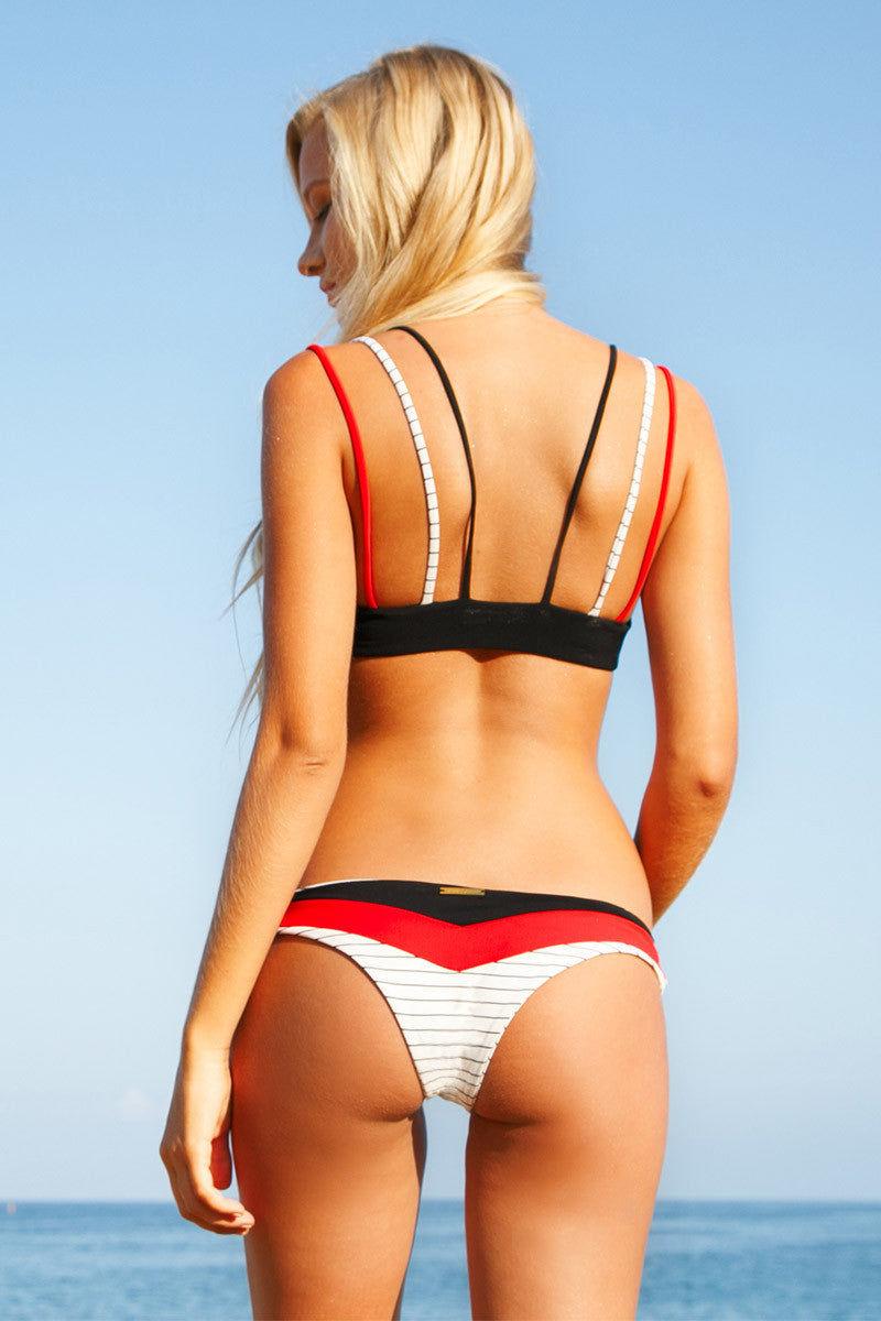 BOYS + ARROWS Nancy The Nutcracker Bottom Bikini Bottom | Convict Mix|Lili