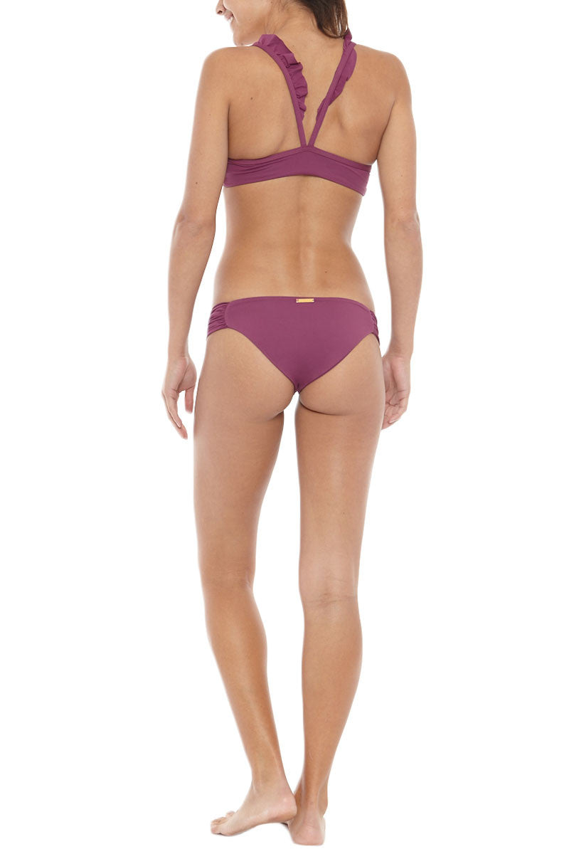BOYS + ARROWS Wilma The Wreck Ruffle Bikini Top - Sea Urchin Bikini Top | Sea Urchin| Boys And Arrows Wilma The Wreck Bikini Top