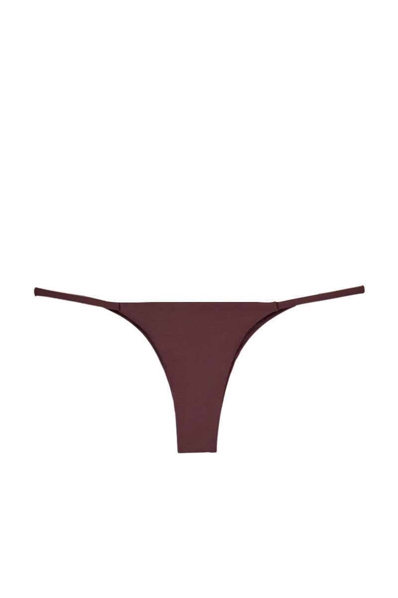 MIKOH Sao Paulo Bottom - Wine Bikini Bottom   Wine  Mikoh Sao Paulo Bikini Bottom