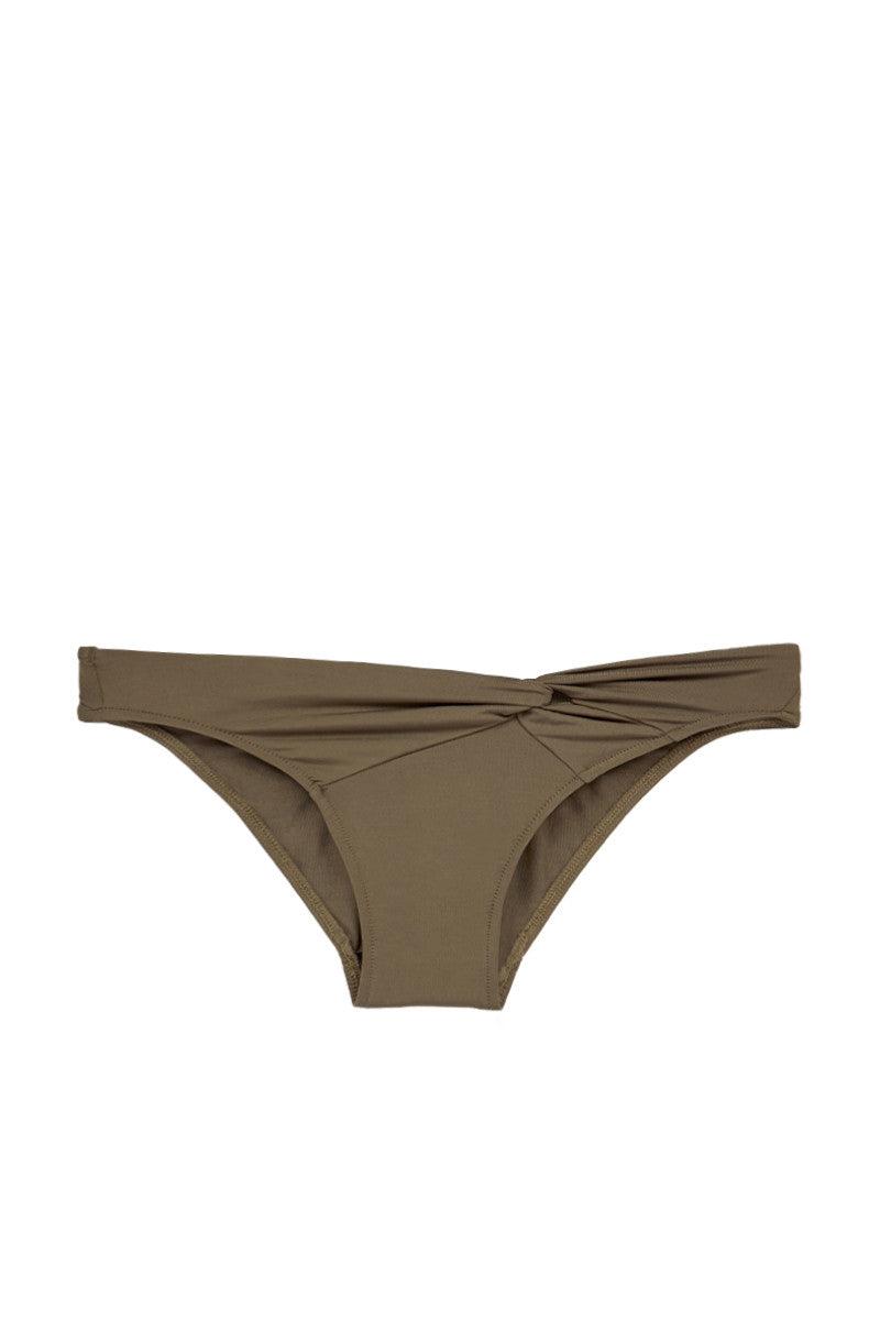 JETS Twist Front Bikini Bottom - Stone Bikini Bottom | Stone| Jets Twist Front Bikini Bottom