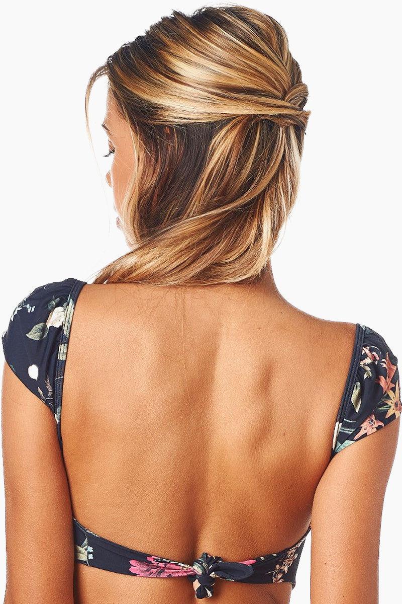 7d1c5bb2412 ... MONTCE SWIM Cabana Cap Sleeve Bikini Top - Emma Floral Bikini Top | Emma  Floral| ...