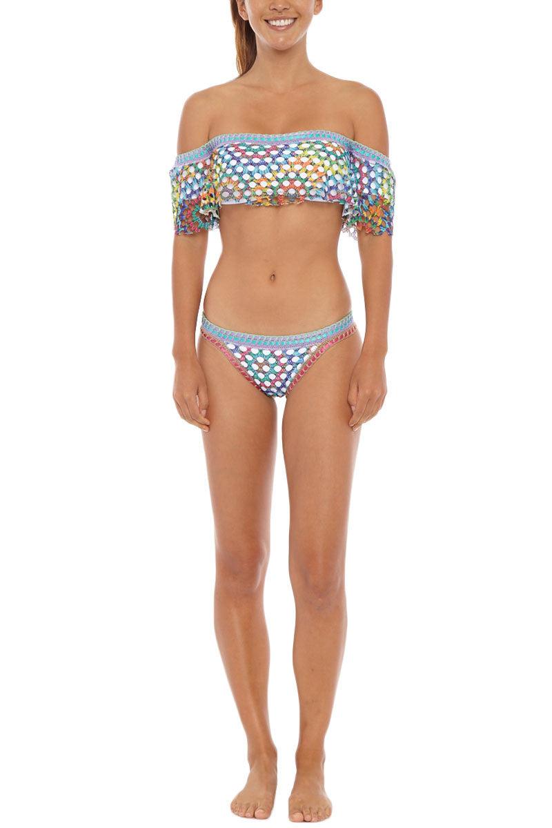 CAPITTANA Anegada Top Bikini Top | Multi| Capittana Anegada Bikini Top