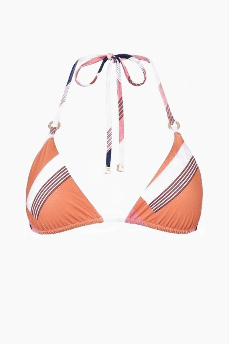 FELLA Carlo Top - Scarf Print Bikini Top | Scarf Print| Fella Carlo Top - Scarf Print front view