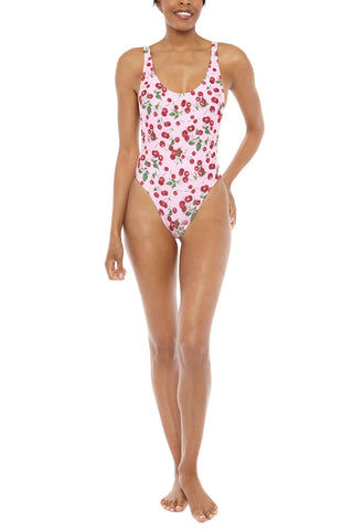 CHLOE ROSE One Love One Piece One Piece | Pink Cherry| Chloe Rose One Love One Piece