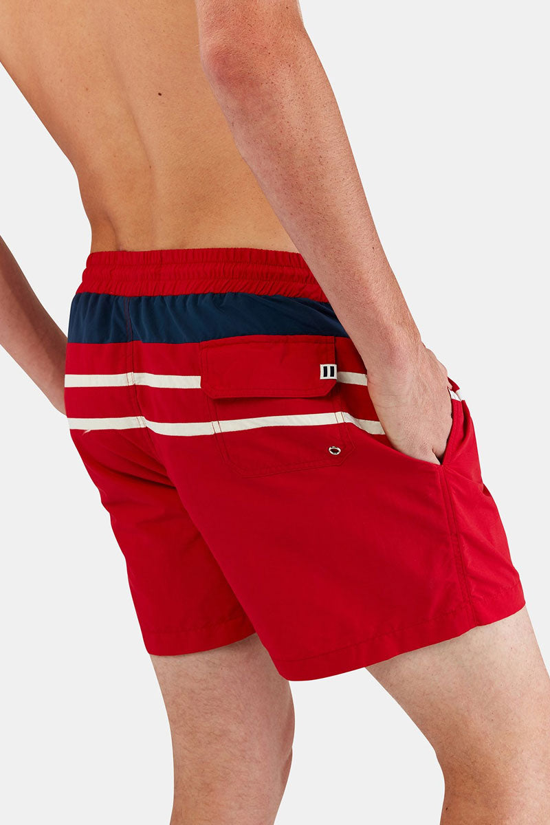 Solid  U0026 Striped Men Classic Drawstring Swim Trunks  Men U0026 39 S
