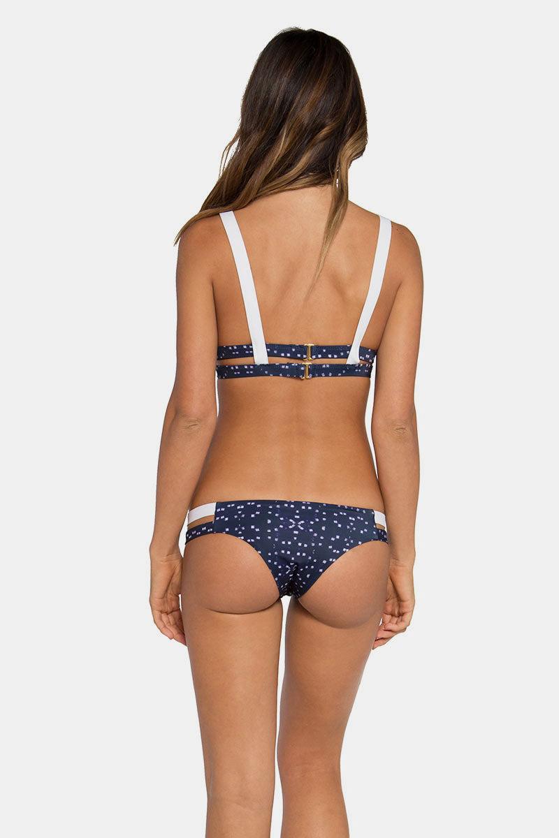 TAVIK Chloe Minimal Double Side Strap Bikini Bottom - Galaxy Print Bikini Bottom | Galaxy Print| TAVIK Chloe Minimal Bikini Bottom