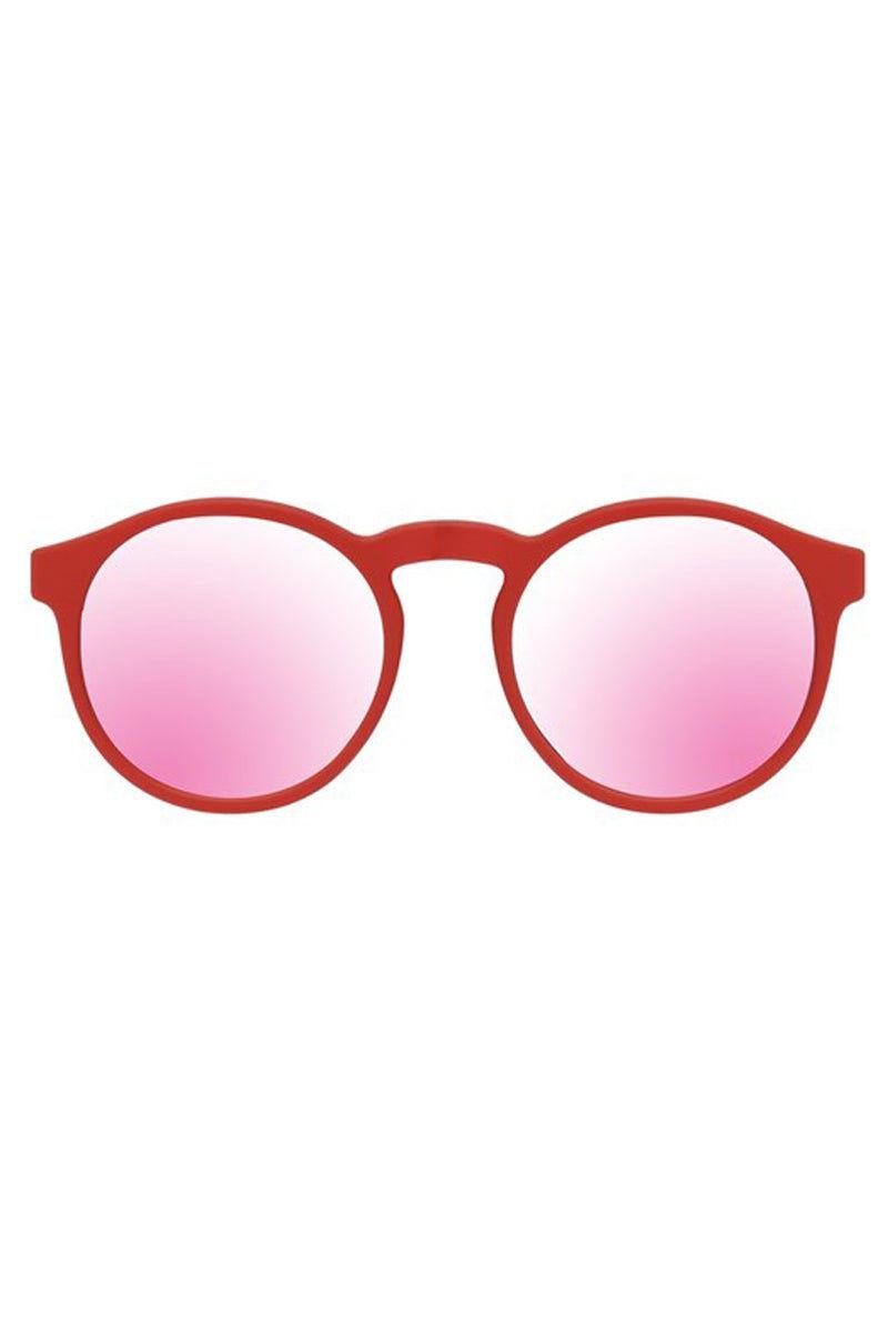 LE SPECS Cubanos Sunglasses - Firecracker Rubber Sunglasses | Firecracker Rubber| Le Specs Cubanos Sunglasses
