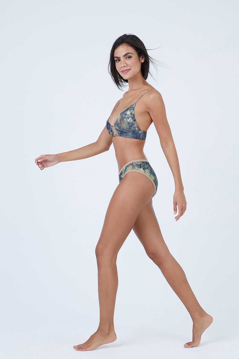 BOYS + ARROWS Knowles Bikini Bottom - Everglade Bikini Bottom | Everglade| Knowles Bikini Bottom - Everglade