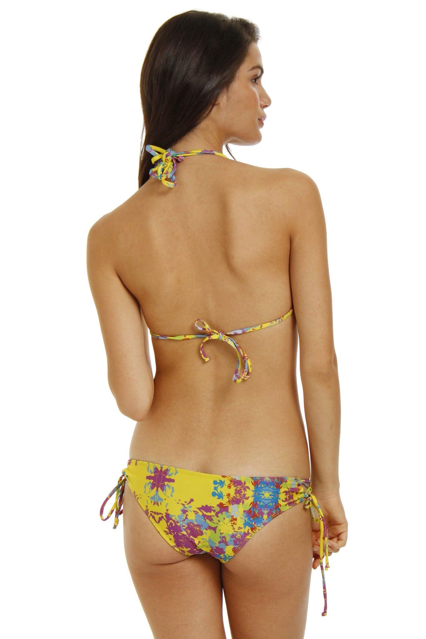 BEACH RIOT Daffodil Adjustable Triangle Bikini Top - Spring Fling Bikini Top | Spring Fling| Daffodil Adjustable Triangle Bikini Top - Spring Fling