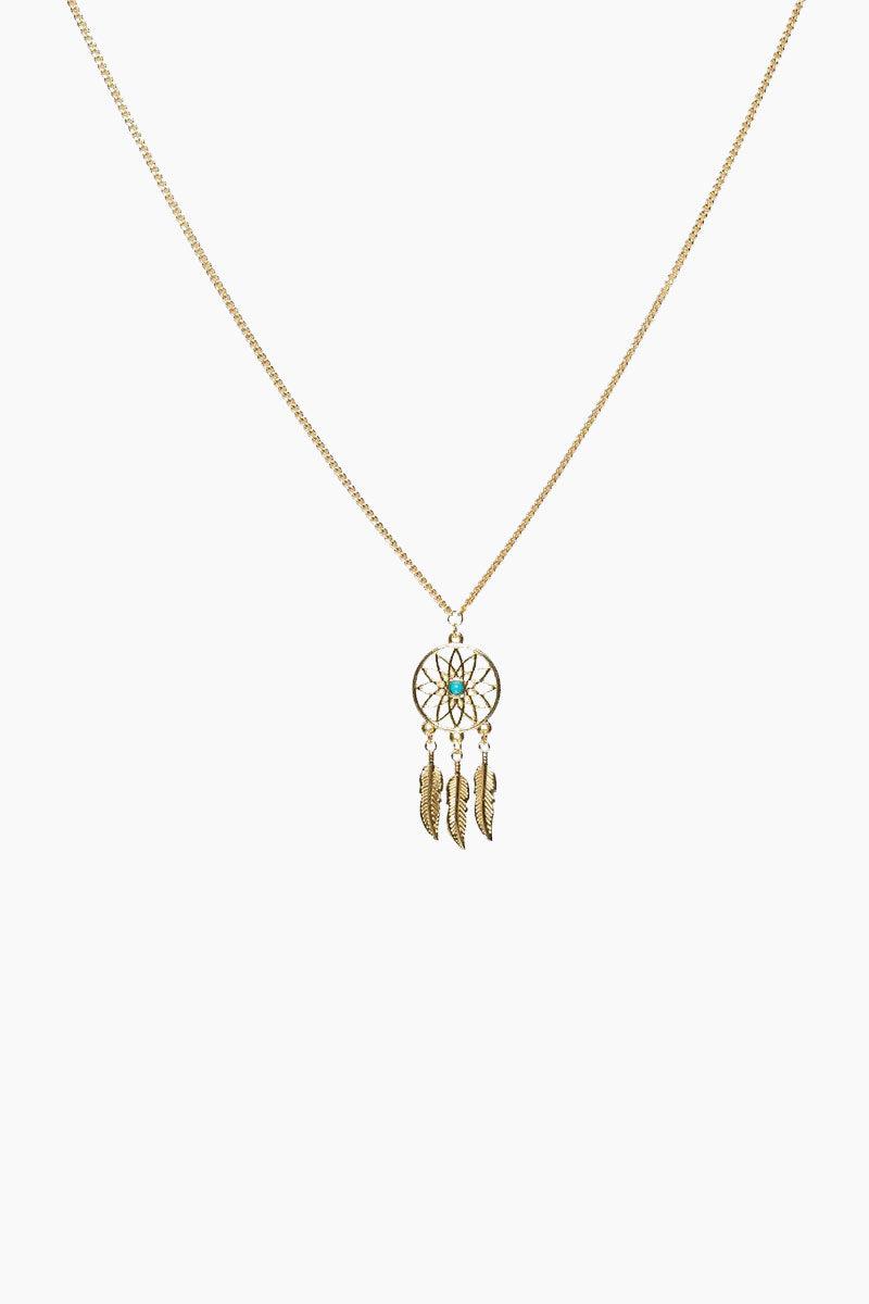 SINTILLIA Dreamcatcher Backlace Sunglass Chain - Gold Accessories | Gold|