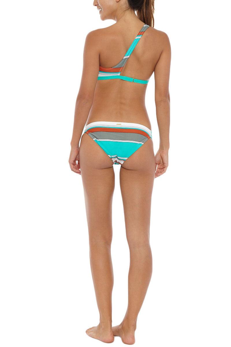 EIDON SWIM Low Rider Bottom Bikini Bottom   Eucalyptus Print  Eidon Low Rider Bikini Bottom