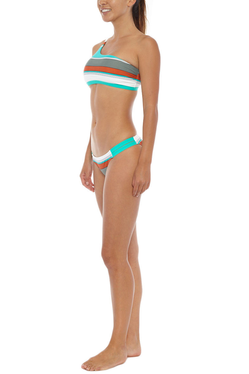 EIDON SWIM Abigail Top Bikini Top | Eucalyptus Print| Eidon Abigail Bikini Top