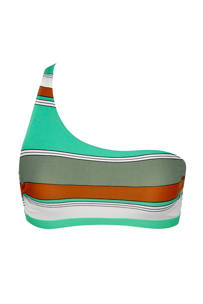 EIDON SWIM Abigail Top Bikini Top | Eucalyptus Print| Eidon Abigail Top