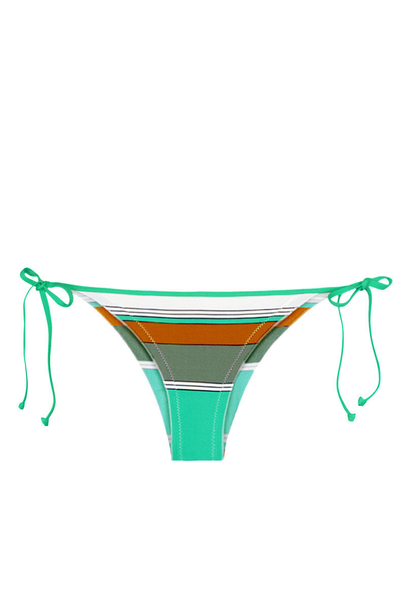 EIDON SWIM Tiki Tie Side Bikini Bottom - Eucalyptus Print Bikini Bottom | Eucalyptus Print| Eidon Tiki Bottom