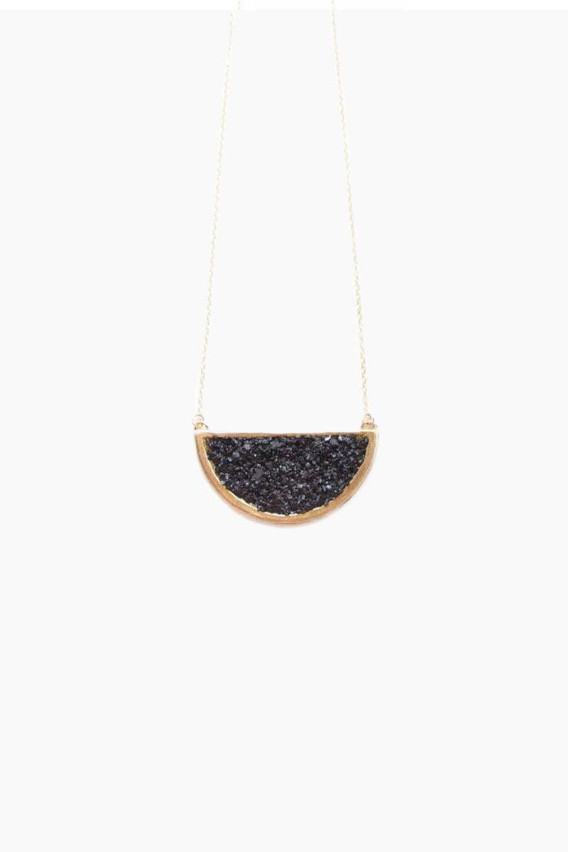 DEA DIA JEWELRY Epoch Necklace - Black Jet Jewelry   Epoch Necklace - Black Jet  Dea Dia Jewelry hand carved necklace