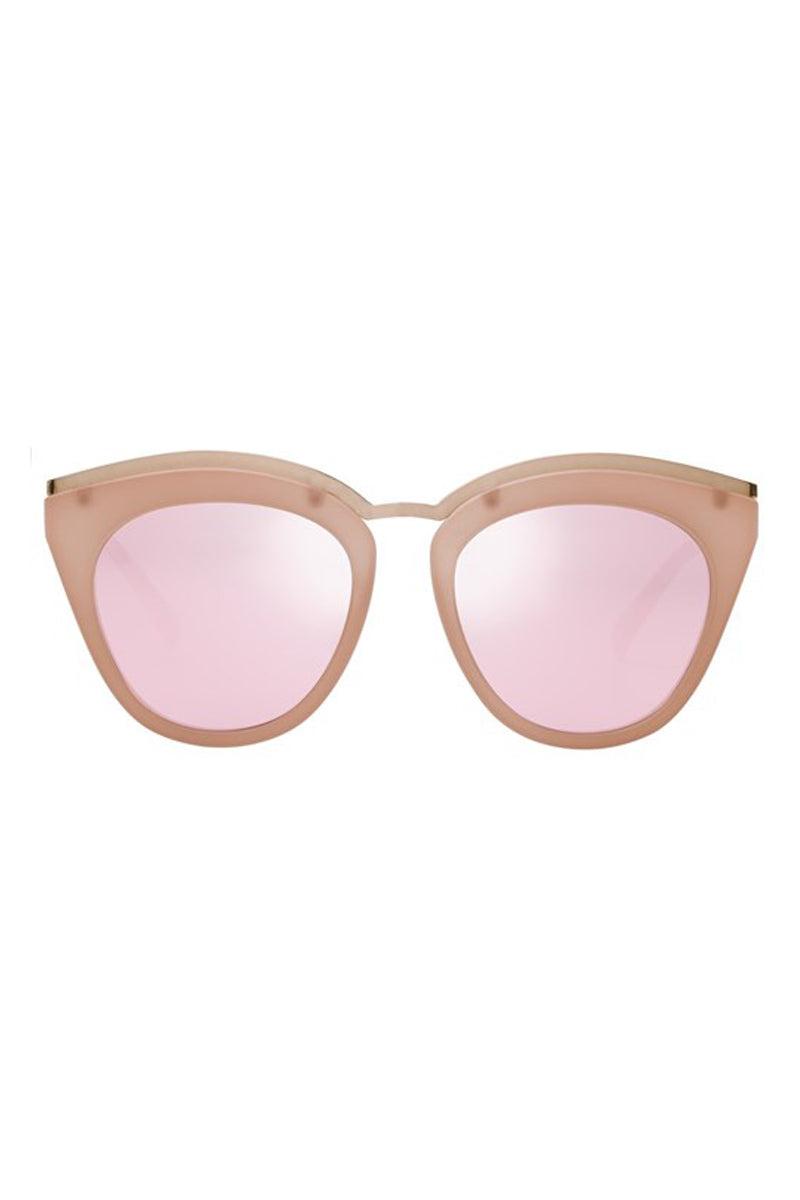 LE SPECS Eye Slay Sunglasses - Matte Shell Sunglasses | Matte Shell| Le Specs Eye Slay Sunglasses