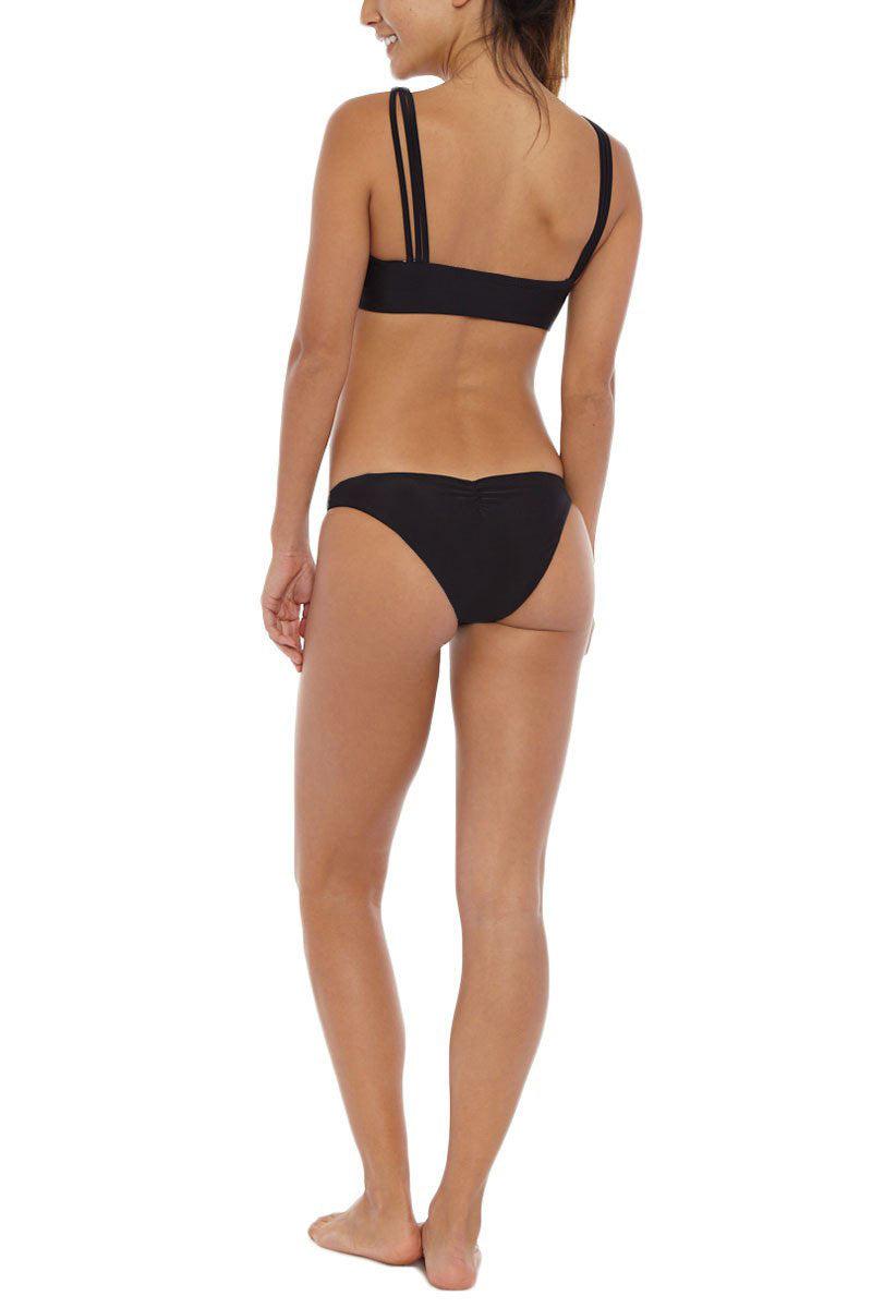 KHONGBOON Foggia Reversible Bikini Bottom Bikini Bottom | Black/White| Khongboon Foggia Reversible Bikini Bottom