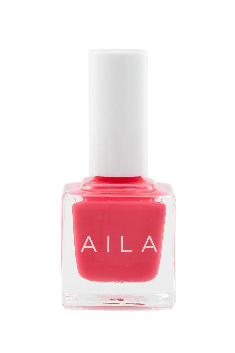 AILA COSMETICS Ginger Nail Polish Nails   Ginger  Aila Cosmetics Nail Polish Front View