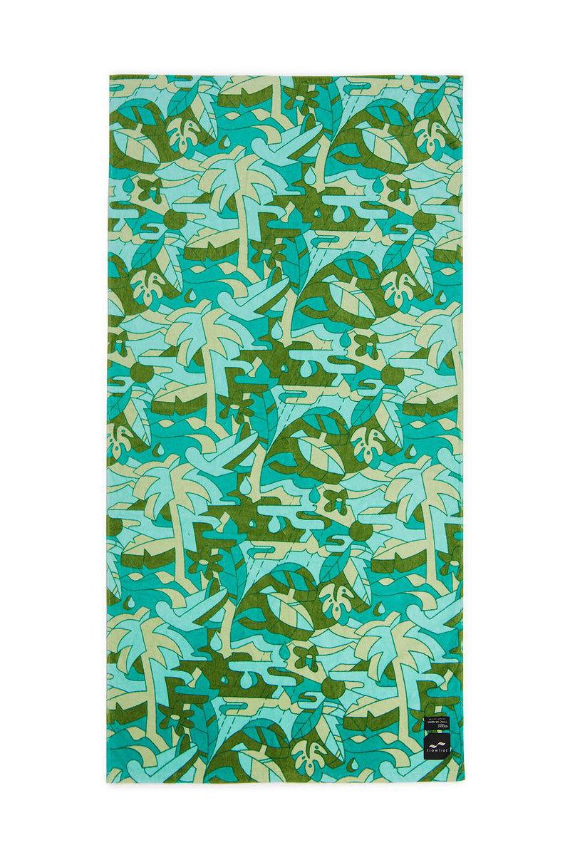 SLOWTIDE Hunter Towel Towel | Hunter| Slowtide Hunter Towel Full View