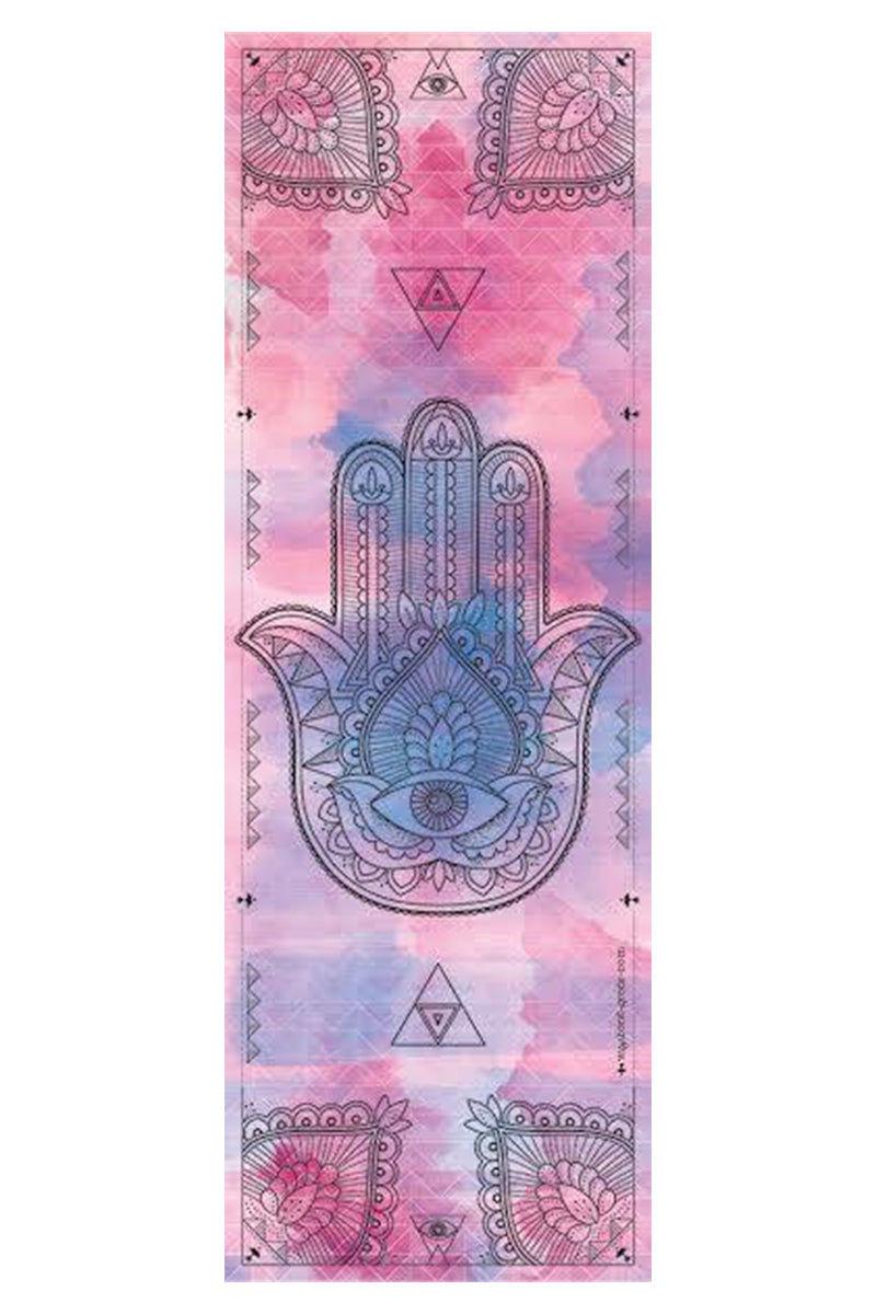 VAGABONDS GOODS Hamsa Microfiber Towel Yoga Accessories | Hamsa| Vagabond Goods Hamsa Microfiber Towel