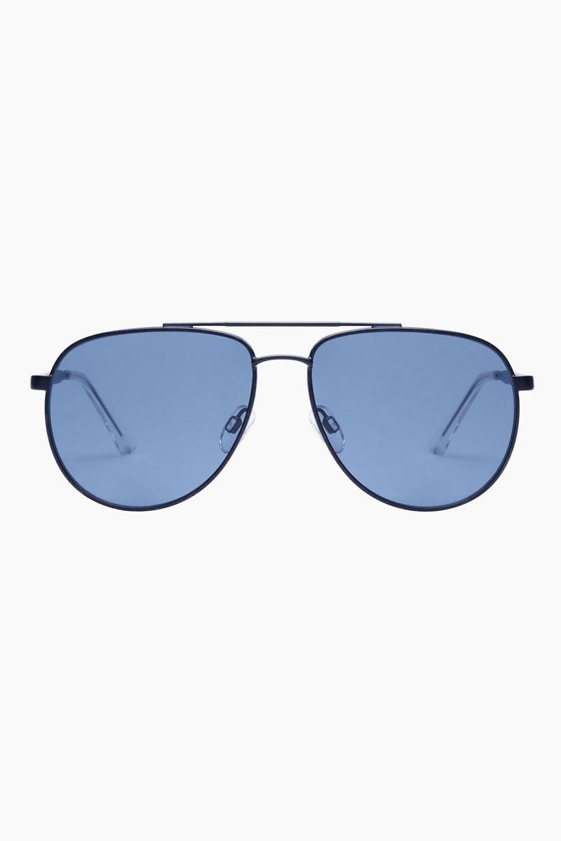 LE SPECS Hard Knock Sunglasses - Matte Navy Sunglasses | Matte Navy|Hard Knock - Le Specs