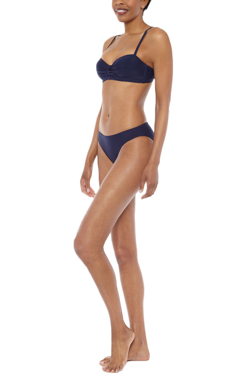 HELEN JON Classic Hipster Bottom Bikini Bottom | Navy| Helen Jon Classic Hipster Bottom