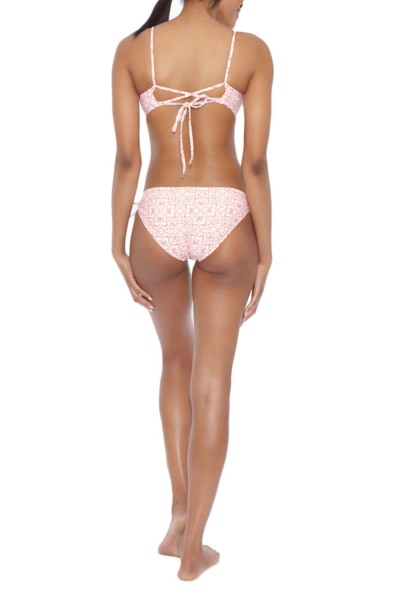 HELEN JON Lace Back Bralette Bikini Top | Exuma| Helen Jon Lace Up Bralette