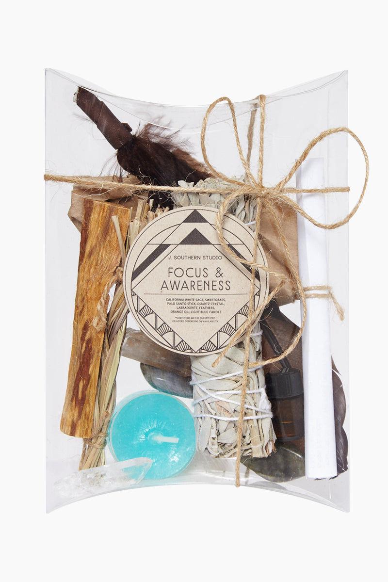 J. SOUTHERN STUDIO Focus & Awareness Ritual Kit Home | Focus & Awareness Ritual Kit - J. Southern Studio - Focus & Awareness Ritual Kit