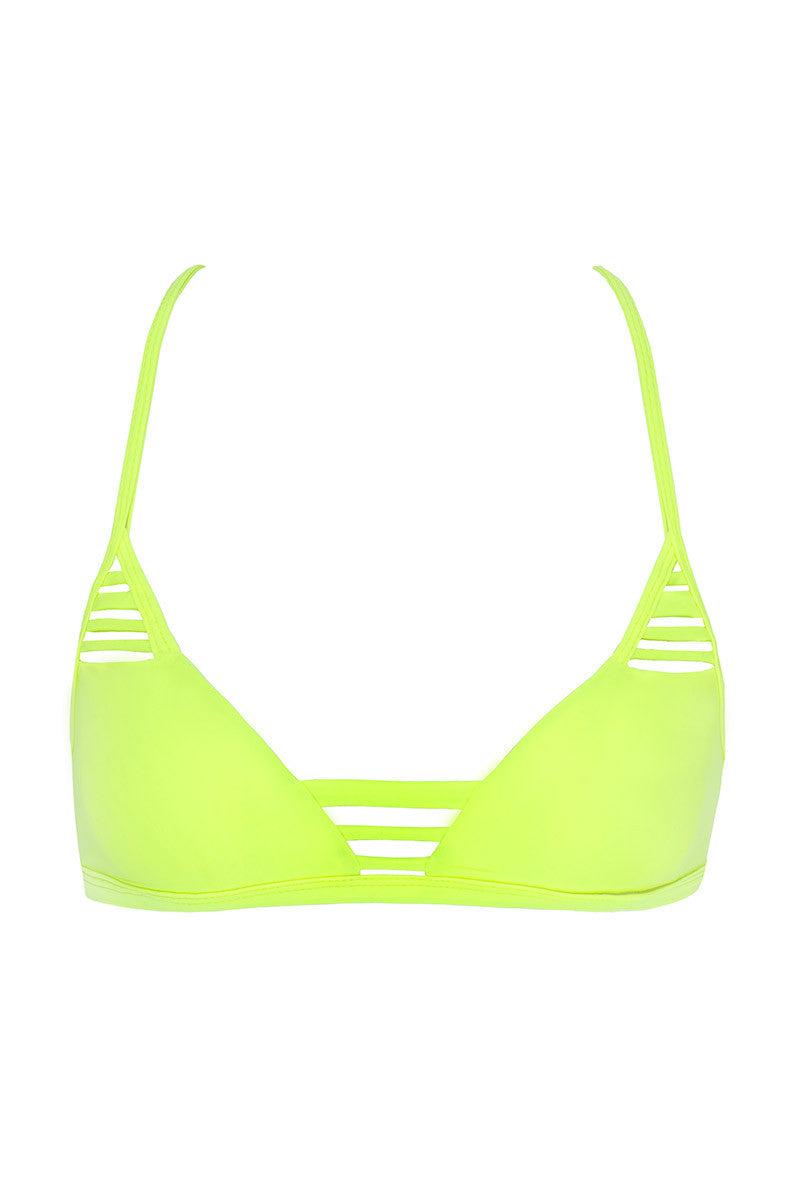 ISSA DE' MAR Hono Strappy Bralette Bikini Top - Neon Bikini Top | Neon| Issa De' Mar Hono Bikini Top