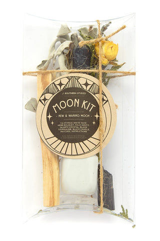 J. SOUTHERN STUDIO New & Waning Moon Mini Ritual Kit Home | New & Waning Moon Mini Ritual Kit