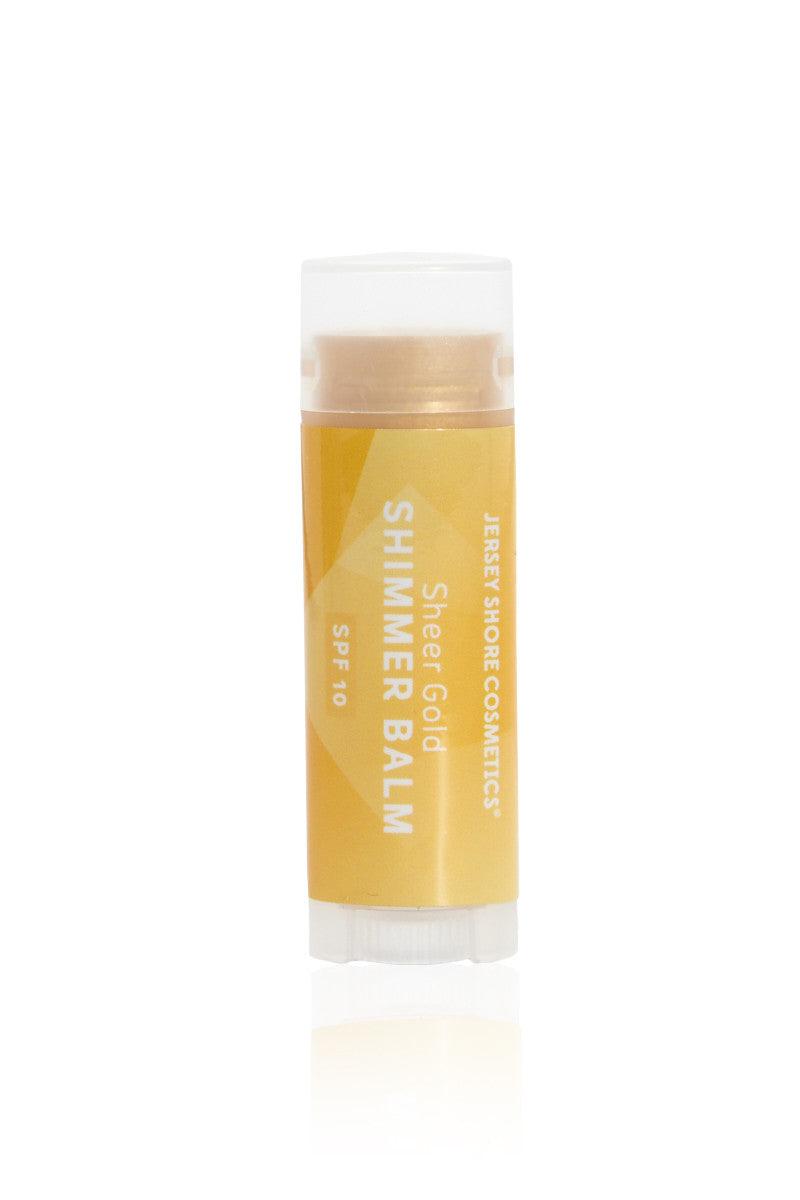 JERSEY SHORE COSMETICS SPF 10 Shimmer Lip Balm - Gold Beauty   Gold  Jersey Shore Cosmetics SPF 10 Shimmer Lip Balm