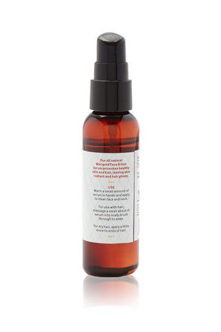 JERSEY SHORE COSMETICS Marigold Face & Hair Serum Beauty | Marigold| Jersey Shore Cosmetics Marigold Face & Hair Serum