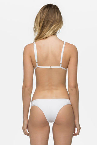 TAVIK Jett Bikini Top - White Bikini Top | White|Jett Bikini Top - Features:  Triangle bikini top Thin adjustable straps Thin bust band Clasp back Lined