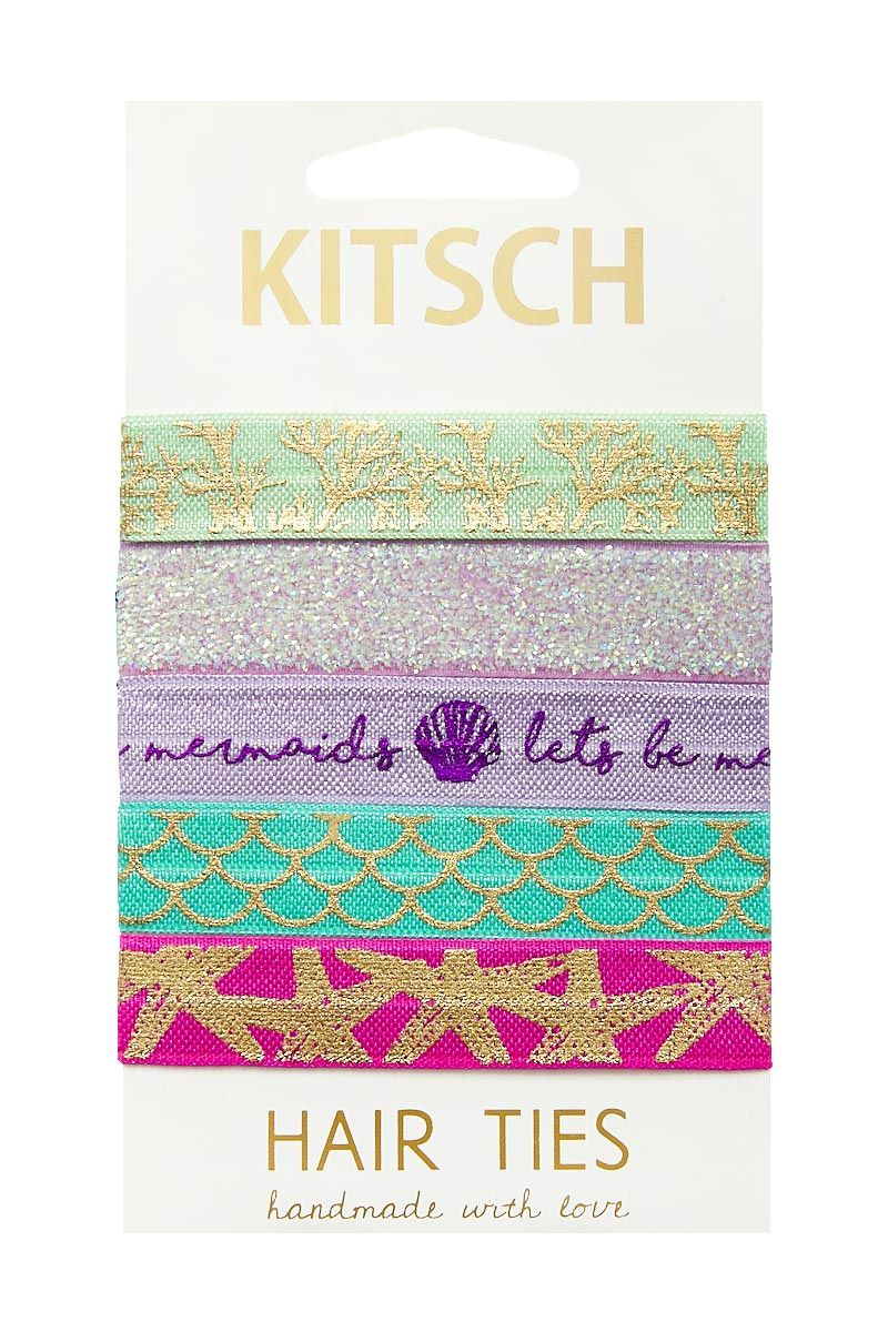 KITSCH Sea Vibes Hair Ties Hair Accessories | Sea Vibes Hair Ties