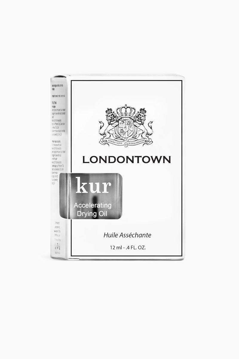 LONDONTOWN Kur Accelerating Drying Oil - Clear Nails | Clear|Kur Accelerating Drying Oil - Clear