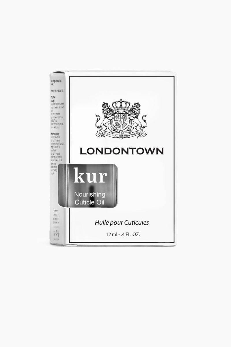 LONDONTOWN Kur Nourishing Cuticle Oil - Clear Nails | Clear|Kur Nourishing Cuticle Oil - Clear