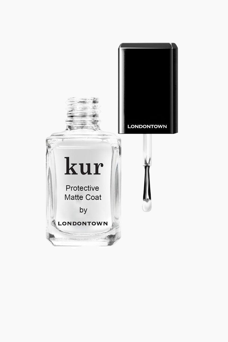 LONDONTOWN Kur Protective Matte Coat - Clear Nails | Clear|Kur Protective Matte Coat - Clear
