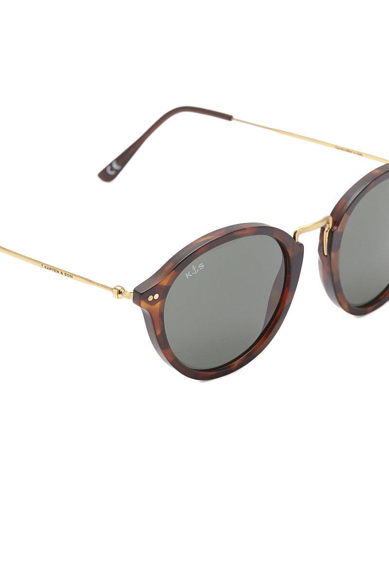 KAPTEN AND SON Maui Sunglasses Sunglasses | Tortoise/Green| Kapten and Son Maui Sunglasses
