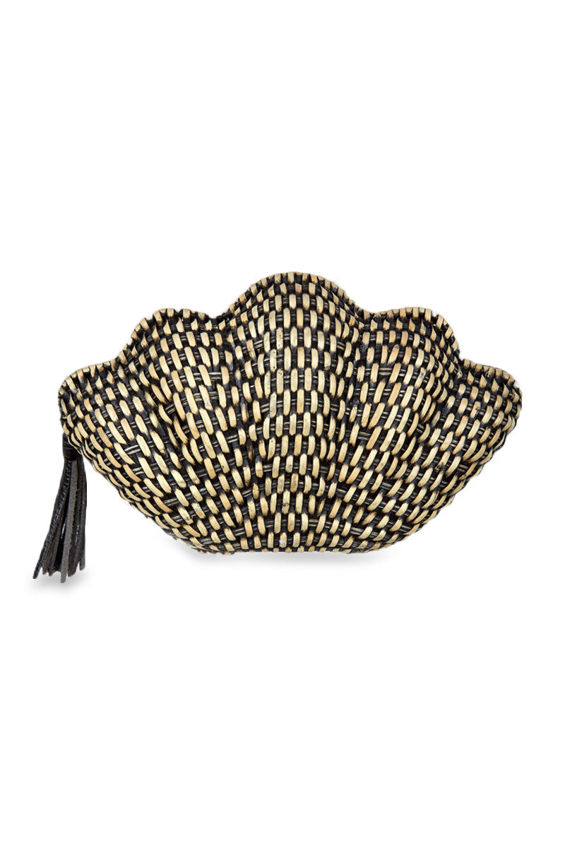 KAYU Jane Shell Clutch - Black Wash Bag   Black Wash  Kayu Jane Clutch